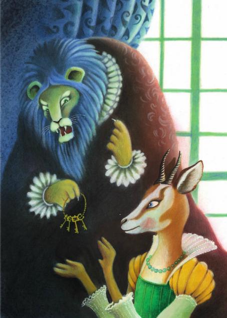 Illustrazione di Giuliano Ferri per l'edizione Gallucci del 2013